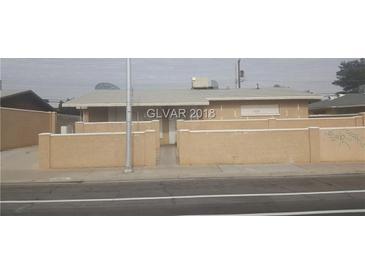 Photo one of 4008 San Bernardino Ave Las Vegas NV 89102 | MLS 1966529