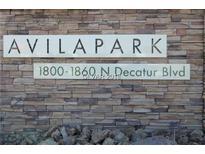 View 1824 Decatur Bl # 101 Las Vegas NV